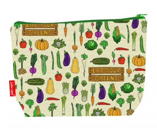 Selina-Jayne Garden Vegatables Limited Edition Designer Wash Bag
